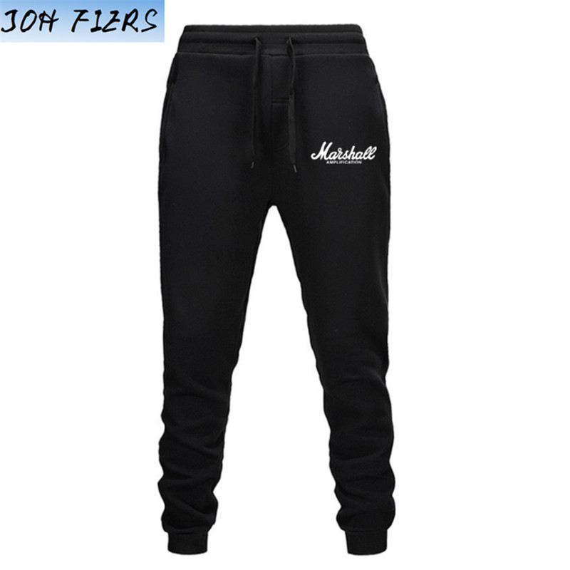 Autumn New Marshall Men Fitness Sweatpants Male Bodybuilding Workout Cotton Trousers Casual Joggers Sportswear Pencil Pants