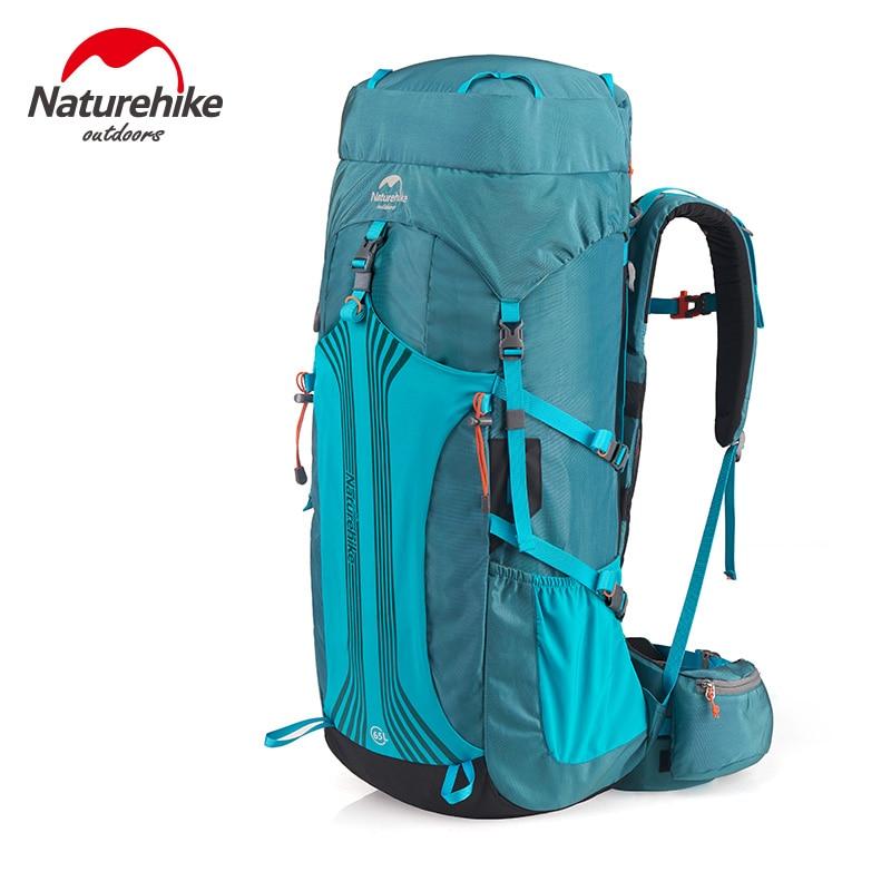 Туристический рюкзак (Naturehike/45-65 л/3 цвета) с подвесной системой