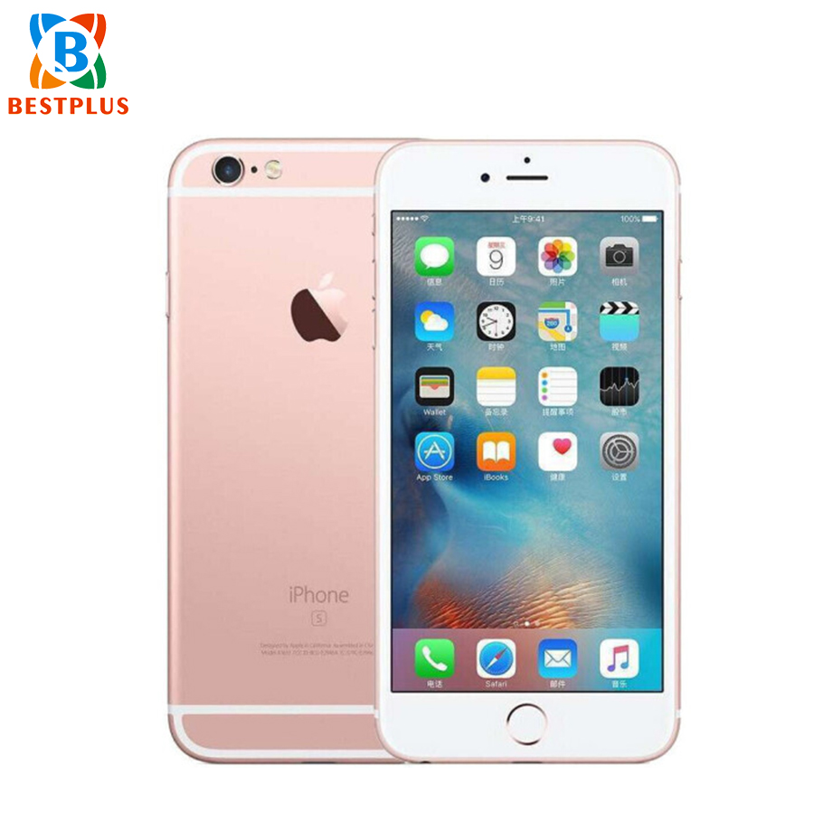 Sprint Version Apple iPhone 6s Plus A1687 LTE Mobile Phone 5.5 2GB RAM 128GB ROM 12.0MP Camera dual Core Smart Phone image