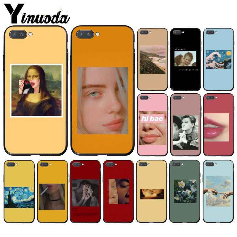 Yinuoda Great Art aesthetic Van Gogh Mona Lisa Angel สำหรับ Huawei Honor 8A 8X 9 10 20 Lite 7A 5A 7C 10i 9X Pro Play 8C