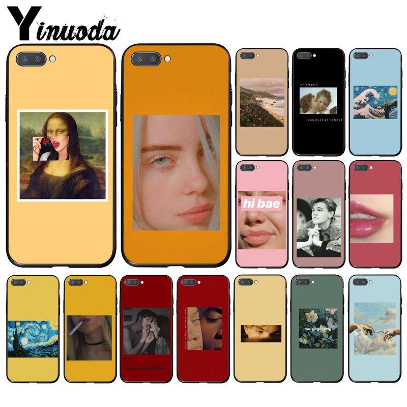 Yinuoda Great Art Aesthetic Van Gogh Mona Lisa Angel Phone Case For Huawei Honor 8A 8X 9 10 20 Lite 7A 5A 7C 10i 20i
