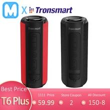 Tronsmart T6 Plus Bluetooth динамик 40 Вт портативный динамик глубокий бас Саундбар с IPX6 Водонепроницаемый, power Bank функция SoundPul