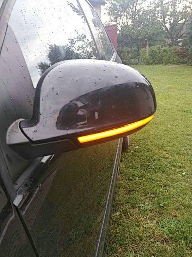 LED Mirror Light Dynamic Blinker Turn-Signal Jetta Mk5 Sharan Passat B5.5 Variant Plus