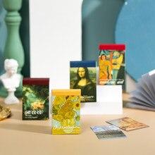 50 pçs série de exposição de arte adesivos decorativos scrapbooking vara etiqueta diário álbum papelaria pintura adesivo acessórios
