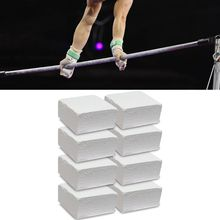 8pcs Chalk Block Anti-Skid Magnesium Powder for Sports Fitness Gymnastics Rock Climbing Weight Lifting Barbell