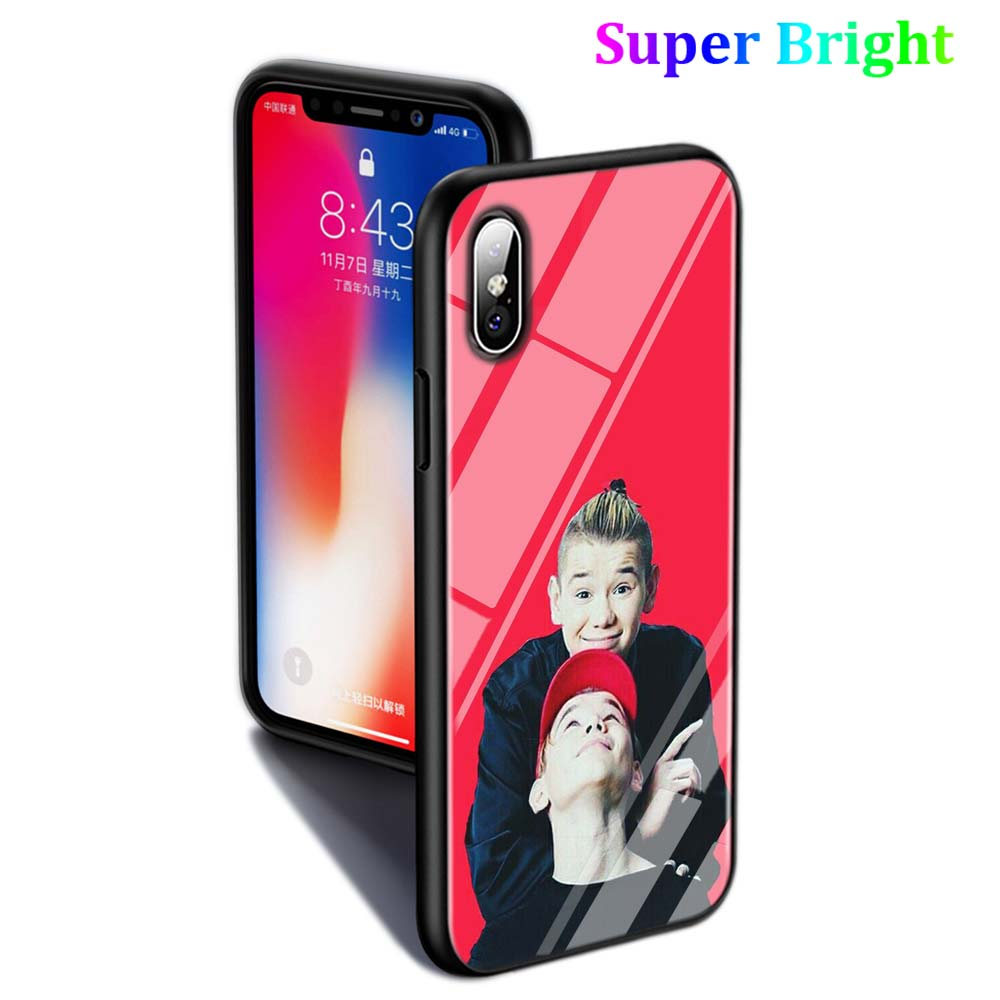 Black Cover Marcus Martinus for iPhone X XR XS Max for iPhone 8 7 6 6S Plus 5S 5 SE Super Bright Glossy Phone Case in Fitted Cases from Cellphones Telecommunications