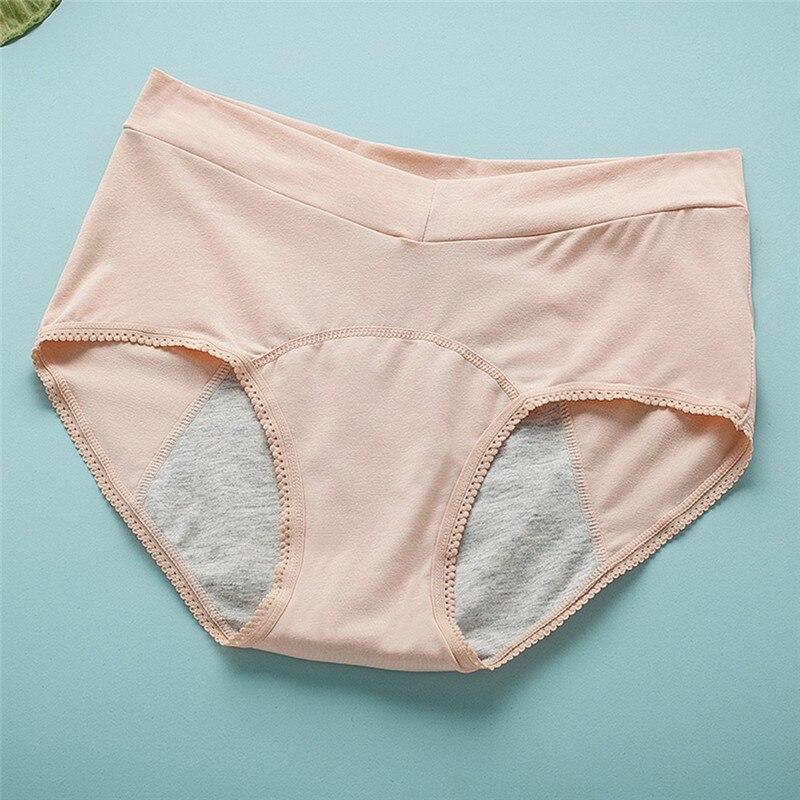 Leak Proof Menstrual Panties Physiological Pants Women Underwear Period Cotton Waterproof Briefs Female Lingerie