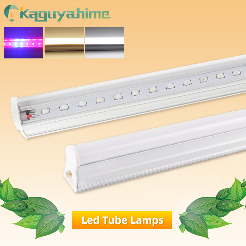 Kaguyahime 1pc/4pcs LED T5 Tube 6W Fluorescent Lamp Full Spectrum AC 220V Growth Lamp For Greenhouse Hydroponic Plant Growing