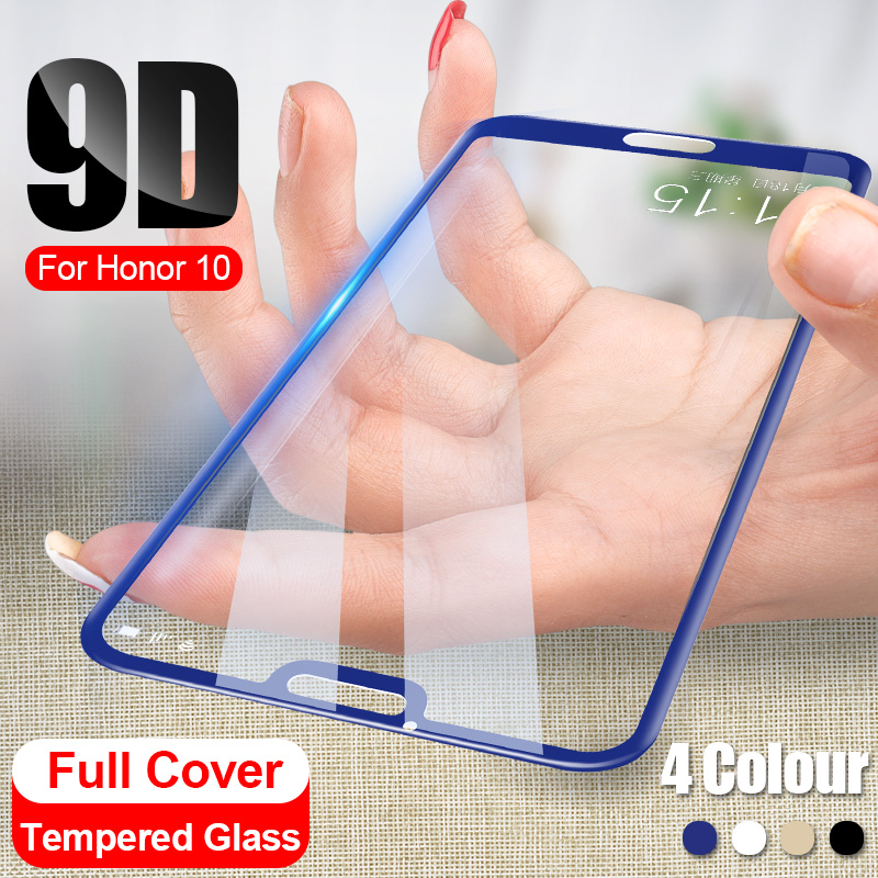9D Full Cover Tempered Glass On For Huawei Honor 10 8X 20 Pro Screen Protector For Huawei Honor 9 10 Lite 8X Protective Glass