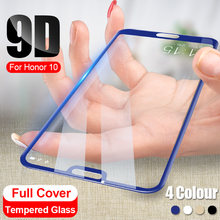 9D Full Cover Tempered Glass On For Huawei Honor 10 8X 20 Pro Screen Protector For Huawei Honor 9 10 Lite 8X Protective Glass(China)