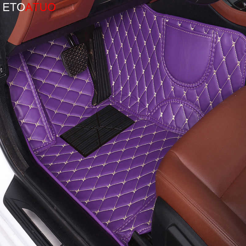 Tapis de sol de voiture sur mesure pour Kia rio sorento cerato soul optima Opirus Borrego VQ carnaval Carens SHUMA Cad Niro tapis de voiture tapis