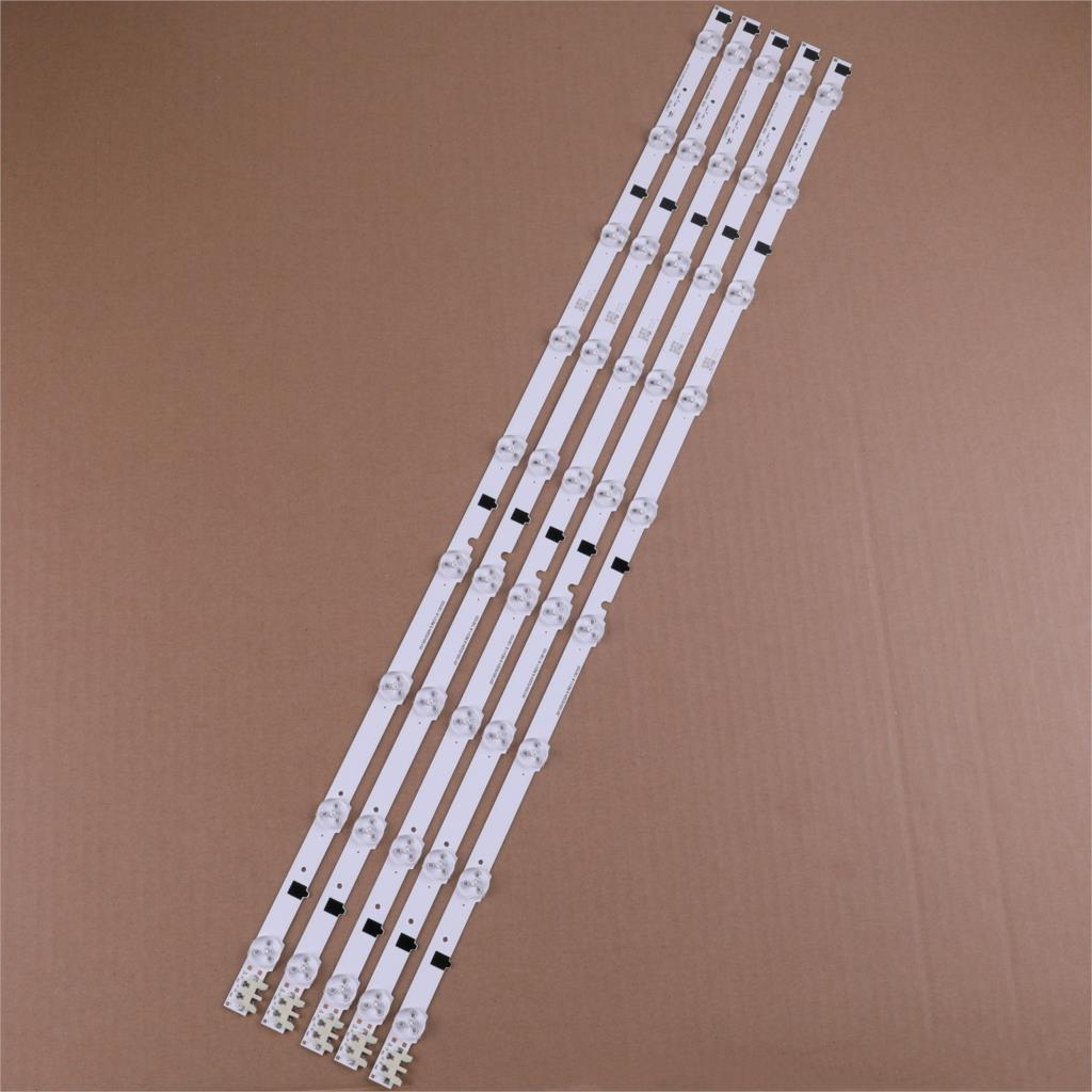 650mm LED Backlight Lamp strip 9 leds For SamSung UA32F4088ARAJUA 2013SVS32H D2GE-320SC0 32 inch LCD Monitor High light 5 pcs