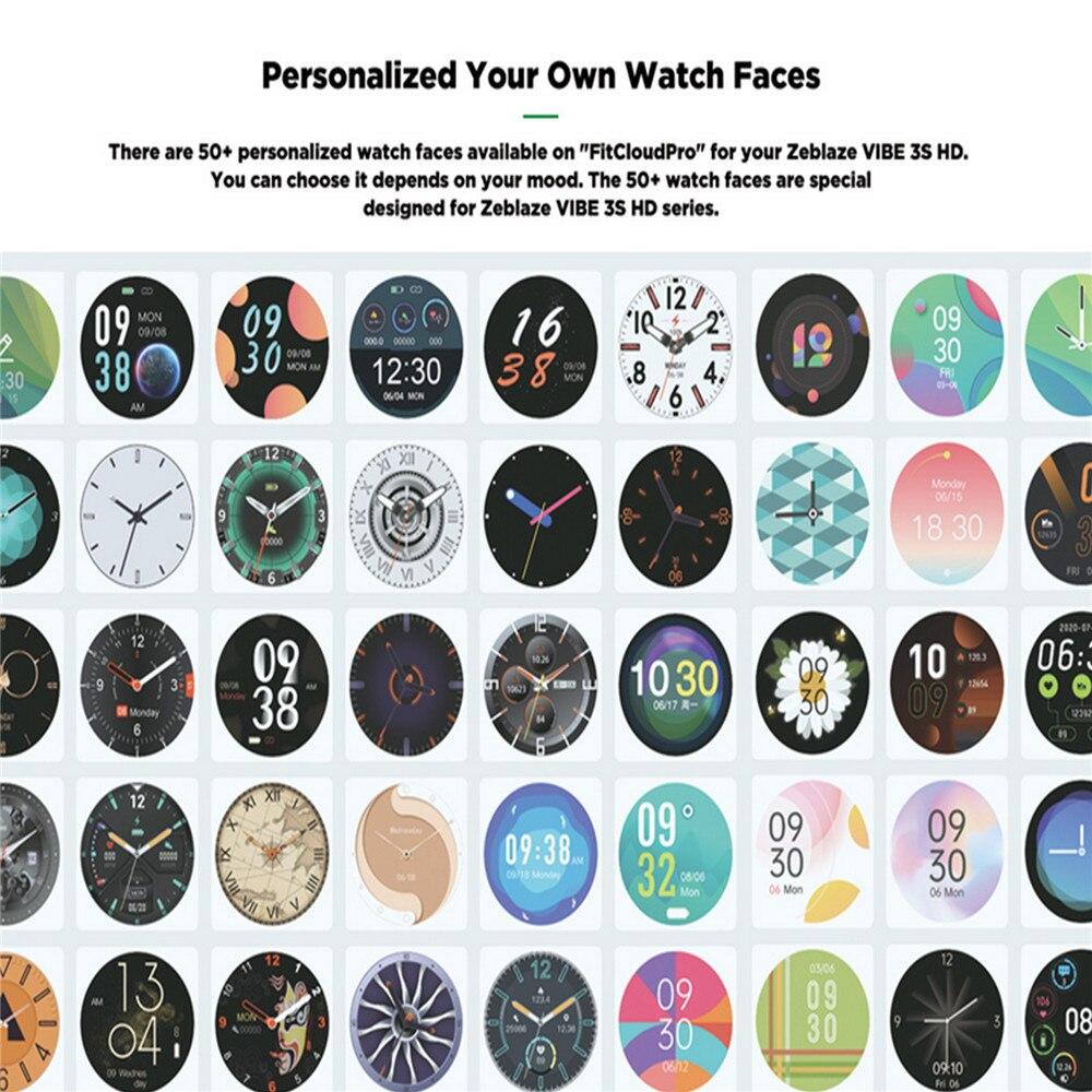 inteligente cor da tela toque relógio pulso