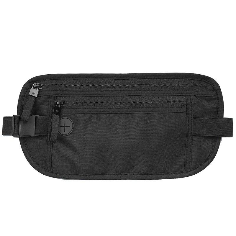 Хит продаж! уличная спортивная поясная сумка RFID, противоугонная карта, кошелек, дорожная барсетка, изготовитель, настраиваемый печатный жур