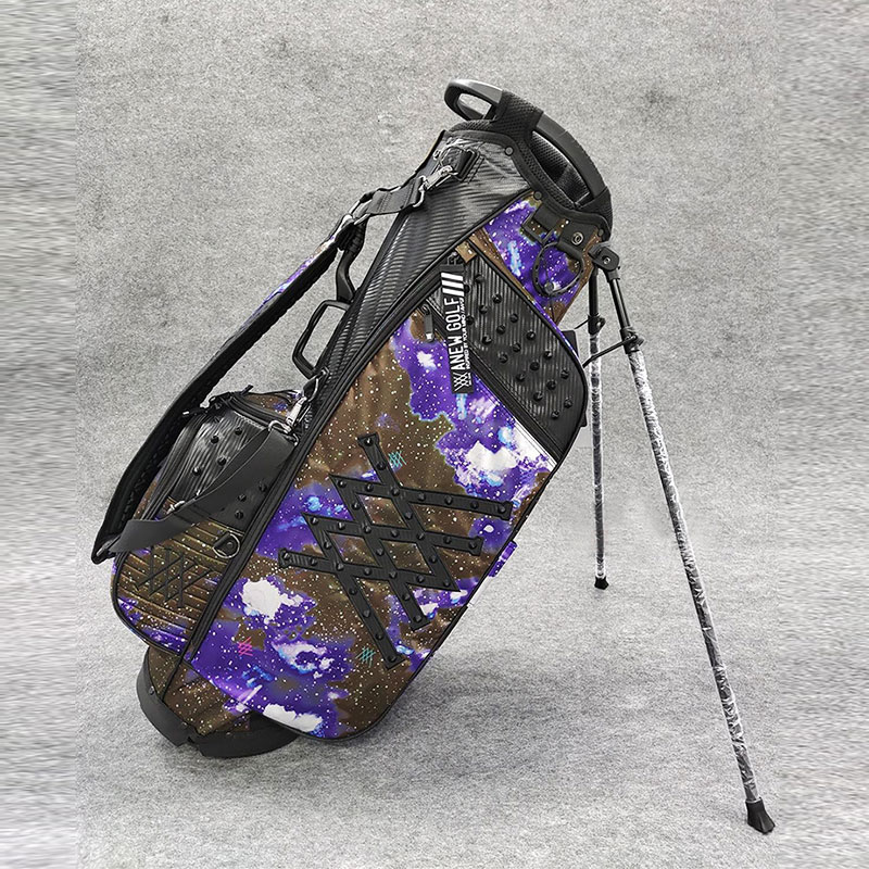 Golf Bags ANEW Golf cart bag Waterproof Big Capacity Packages Multi-Pockets Durable Bag Golf Club Equipments 2 Color 1