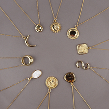 Classic 925 Sterling Sliver Chains Gold Round Letter Pendant Necklace Women Minimalist Coin Disc Chokers Layering Necklaces peri sbox 925 sterling sliver face pendant chokers necklace minimalist coin disc choker necklaces chic layered chain necklaces