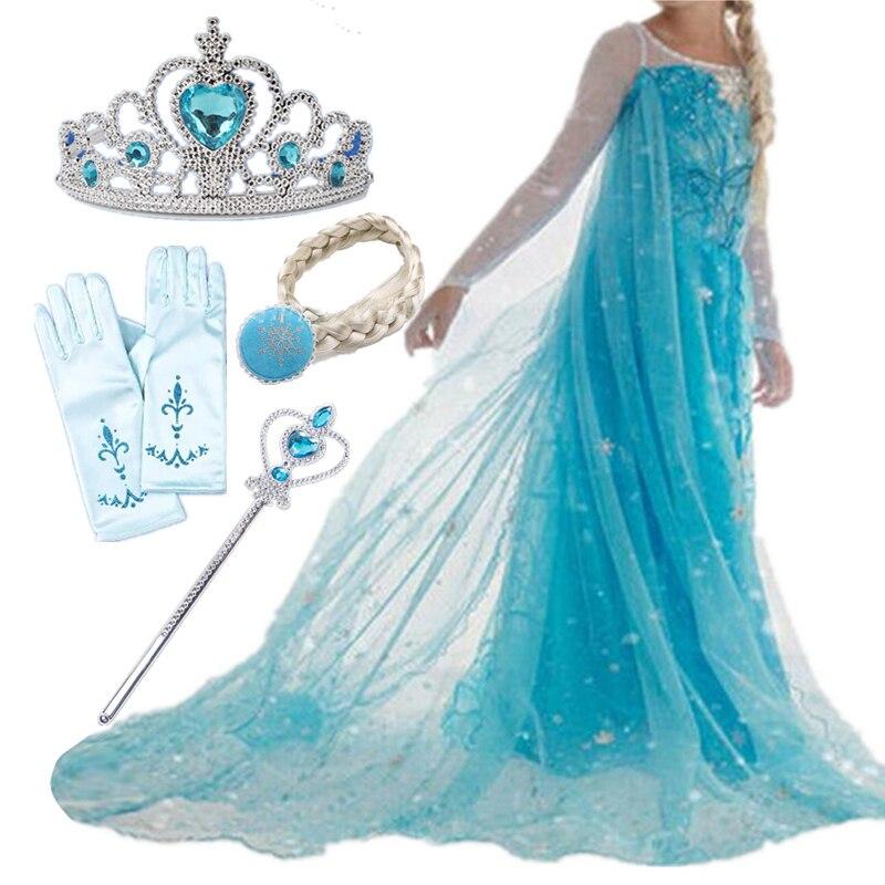 Vestido de halloween meninas traje fantasia festa princesa cosplay vestidos de bebê crianças natal conjuntos de aniversário roupas