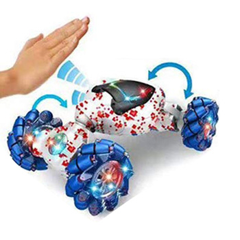 Stunt RC Car Toy Gesture Sensing Twisting Vehicle with Light Music Effects Kids Gifts YJS99