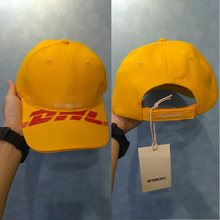 20SS Vetements DHL Baseball Caps Männer Frauen Stickerei Visier Dad Hüte Hip Hop Vetements Baseball DHL Kappe(China)