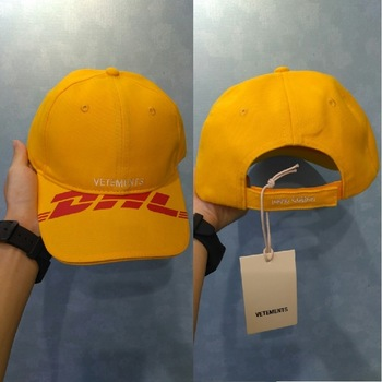 20SS Vetements DHL Baseball Caps Men Women Embroidery Visor Dad Hats Hip Hop Vetements Baseball DHL Cap