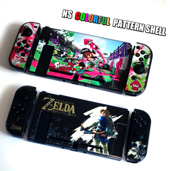 Nintend Switch Case Grip  Hard Shell Classic-Game-Case Switch  Protective Cover Animes-Case Multi Color Switch Accessories Cute eastvita portable game bags game storage case protective handle carry case cover zipper protective shell for nintend switch