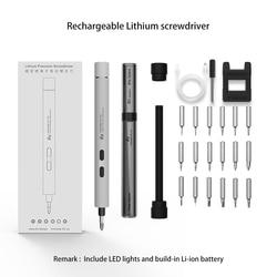 Mini Electric Screwdriver USB Charging Portable Screw Driver Cordless Power Screwdriver Drill Magnetic Screw Driver Repair Set