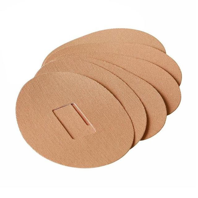6 Patches Extra Strength Adhesive Waterproof Dexcom CGM Patch Latex Free Hypoallergenic Pre Cut Detector Auxiliary Sticker