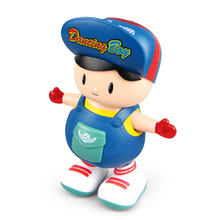 Toy Electric Music-Light Dancing Funny Baby Kids Walking Children's Boy Cute with Styling-Toy