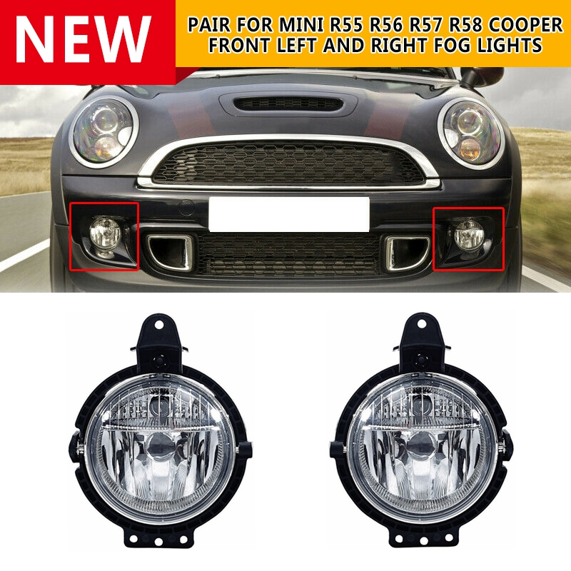 For Nissan Qashqai 2012-2015 Auto Front Bumper Front Left+Right Fog Lights Cover