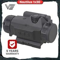 Vector Optics Nautilus Nautilus 1x30 Hunting Scopes Red Dot in Riflescopes Reflex Sight Auto Light Sense 110mm Weapon Sight