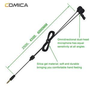 Image 2 - CoMica CVM D02 Lavalierคอนเดนเซอร์ไมโครโฟน 2.5M 4.5M 6.0MไมโครโฟนMicสำหรับSony Canon Nikon DSLRกล้องโทรศัพท์gopro Studio