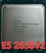 Процессор intel, 10 ядер и 20 нитей, 2,4G 95W 2011 E5 2658 V2