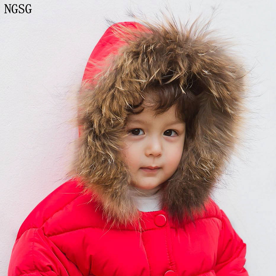 DIY Genuine Raccoon Fur Collar Hood Trim Scarf Winter Down Coat With Real Fur Strip Collar Fur Cuff Accessories