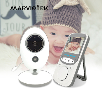 Wireless Video Nanny Cam Baby Monitor Baby Camera intercom Night Vision Temperature Monitoring babysitter nanny baby phone vb605