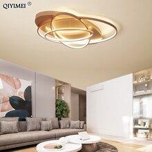 Oval Led Ceiling Lights luminaire plafonnier For Living room kitchen bedroom lampen modern Light Fixtures verlichting AC85 260V