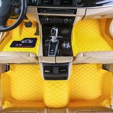 Автомобильный напольный коврик для corvette vette c7 2014 2015