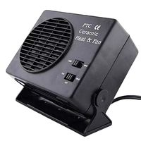 12V 300W Car Hot Fan Portable Ceramic Heater for Car Heating, Windshield Defroster and Demister