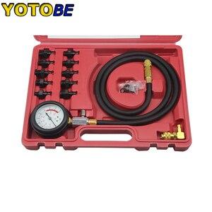 Image 3 - Engine Oil Pressure Test Kit Tester Low Oil Warning Devices Car Garage Tool