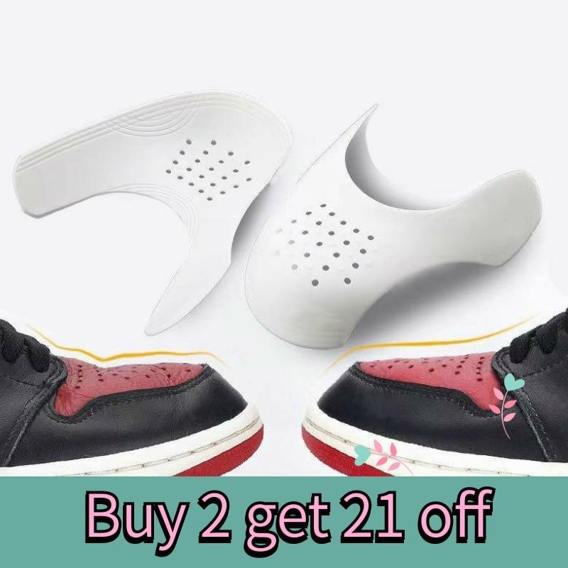 Защитные щитки для кроссовок ВВС, Защитные щитки против морщин, складывающаяся обувь, обувь для поддержки носка, Практичная защита, Прямая поставка|Набор для ухода за обувью|   | АлиЭкспресс