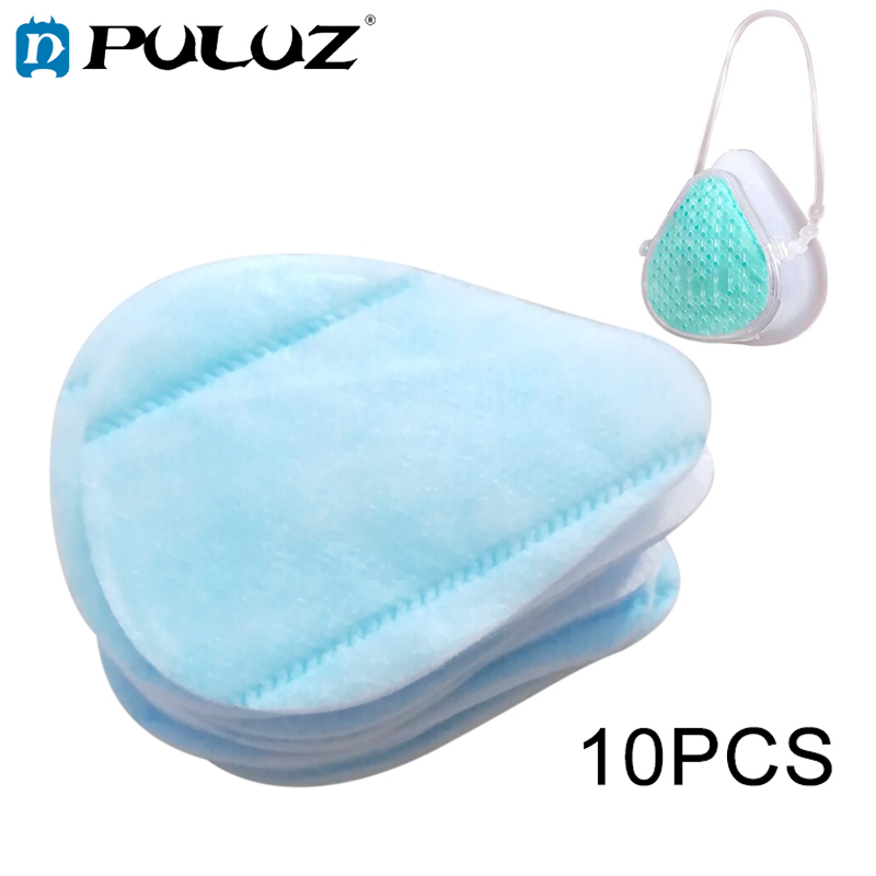 10 PCS Replaceable Mask Filter Cotton Pads For HAMTOD S9 Self-suction Filtering Respirator (EPP0004)