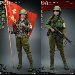 IN STOCK FS73032 1/6 Self-Defence Counterattack Against Vietnam PLA Medical Nurse Action Figure Model Full Set Toys