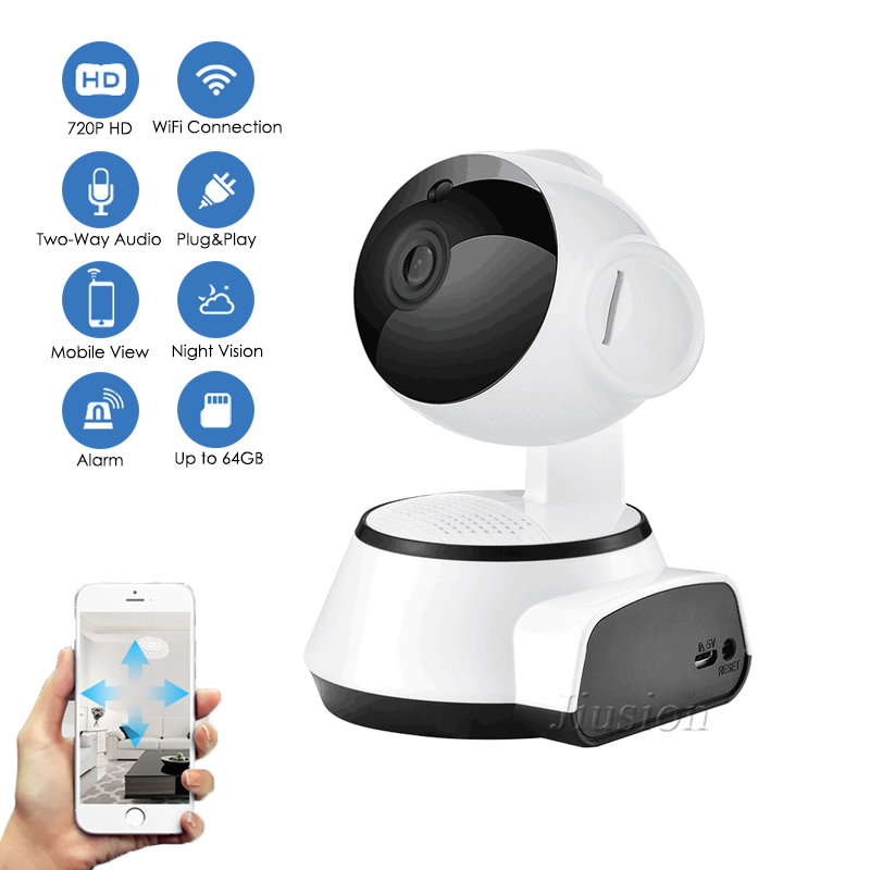 WiFi IP CCTV Mini Camera 720P Home Surveillance Night Vision Remote Secret Camcorder Security Nanny Micro Cam Support Hidden TF image