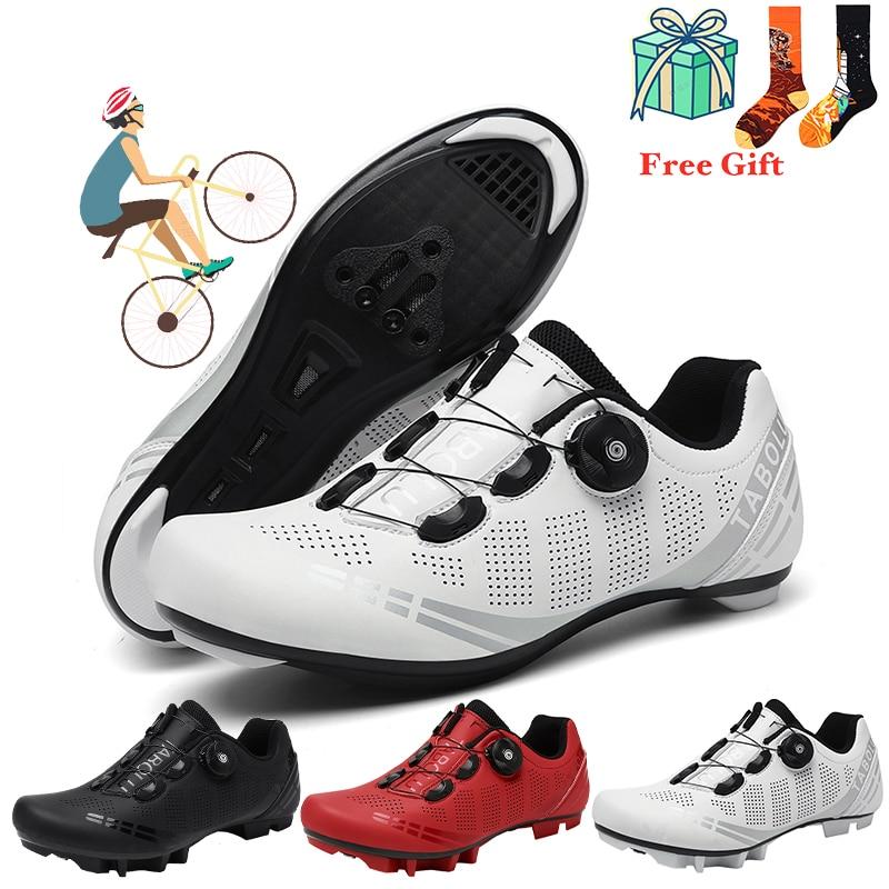 2021 высокое качество sapatilha mtb Дорожный велосипед Велоспорт обувь унисекс; Милая женская обувь с самозапирающийся MTB кроссовки для велоспорта ...
