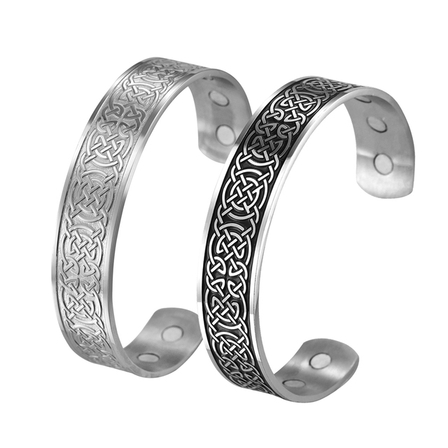 Bracelet Viking wicca cuivre magnétique 3