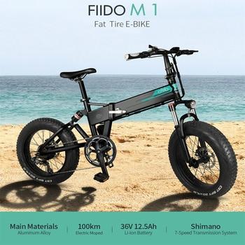 FIIDO-Bicicleta eléctrica de montaña plegable M1, EBike Btm Bmx Dirt E, con...