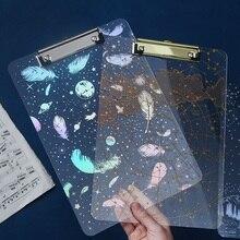 A4 пишущая Подушечка для серег креативная бронзовая живопись и искусство Xiao Qingxin Созвездие папка с отделениями органайзер для файлов molang