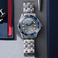 2021 New PAGANI DESIGN Wave Men orologio meccanico orologio automatico di lusso per uomo NH35 orologio da polso da uomo in vetro zaffiro