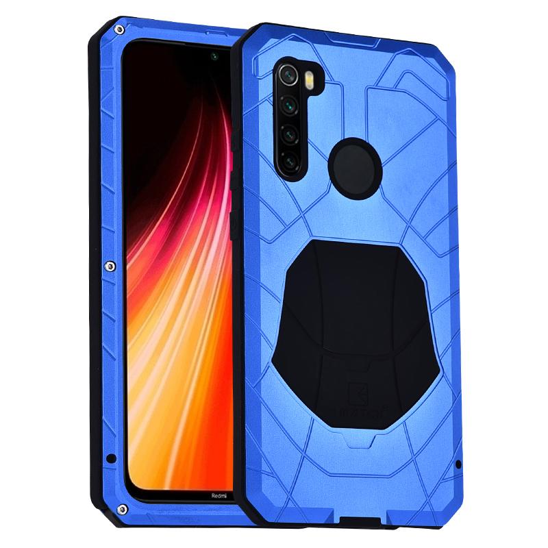 Case For Xiaomi Redmi Note 7 8 9 9T 9S 10 Lite CC9 Pro K20 K30 Max3 Mix2 F1 Shockproof Heavy Duty Tank Aluminum Metal Cover