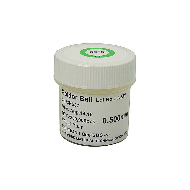 PMTC 0.5MM BGA Leaded solder Ball 250K For ATI Nvidia Intel BGA Chip Reballing
