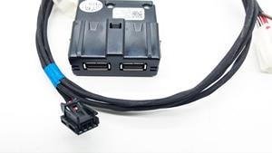 Image 5 - Hinten Sitz USB Buchse Armerst USB mit Verdrahtung für VW Tiguan MK2 Teramont Atlas für Skoda MQB Octavia Superb Kodiaq 5QD 035 726 L